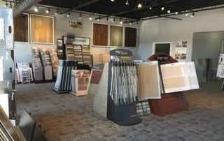 Laurie's Fine Flooring showroom