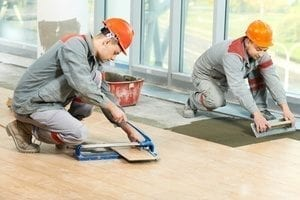 Ceramic tile installation by experts