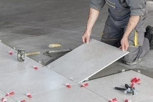 Precise and thorough ceramic tile installation